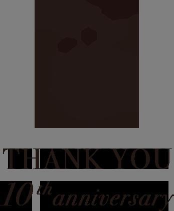 THANK YOU 10thanniversary